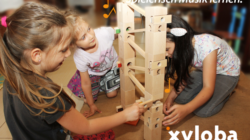 Diese Kugelbahn aus Holz macht Musik – Xylo(fon)ba(hn)