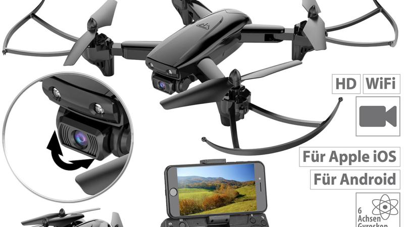 Simulus Faltbarer WiFi-FPV-Quadrocopter GH-35.fpv