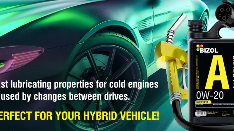 Engine oil requirements for hybrid engines