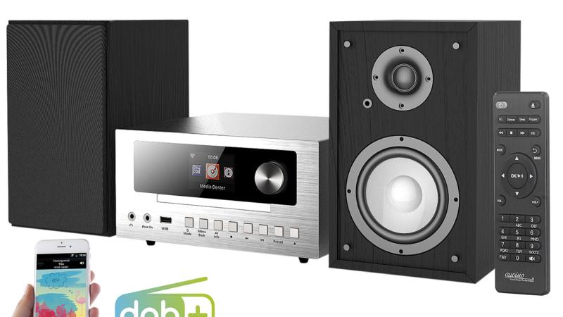 auvisio Micro-Stereoanlage mit Webradio IRS-550.cd