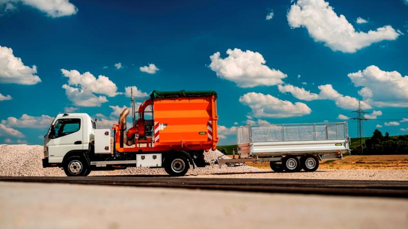 UNSINN Orange: Ein Fahrzeug, viele Einsatzmöglichkeiten
