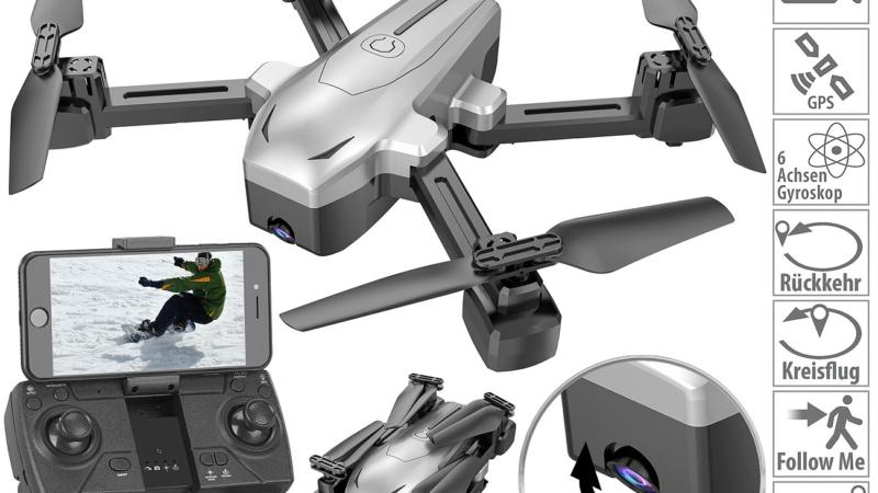 Simulus Faltbarer GPS-Quadrocopter GH-260.fpv