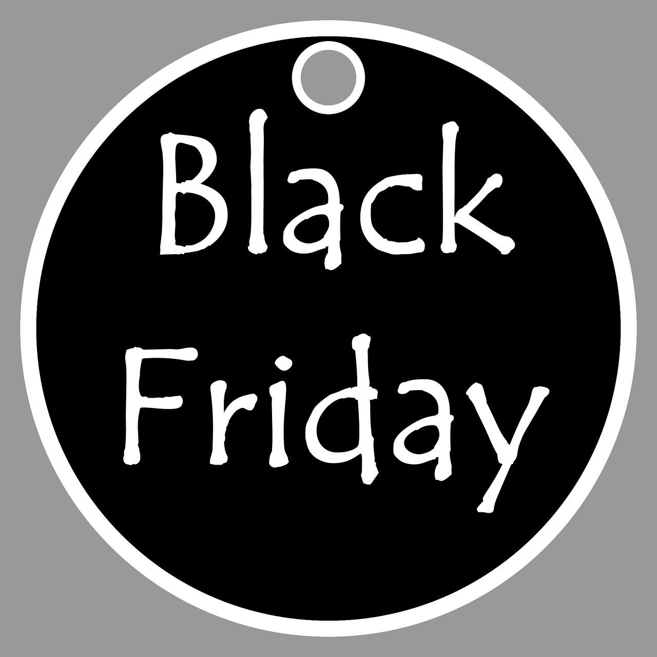 An Blackfriday und in der Blackweek mit Blackfriday-Domains punkten