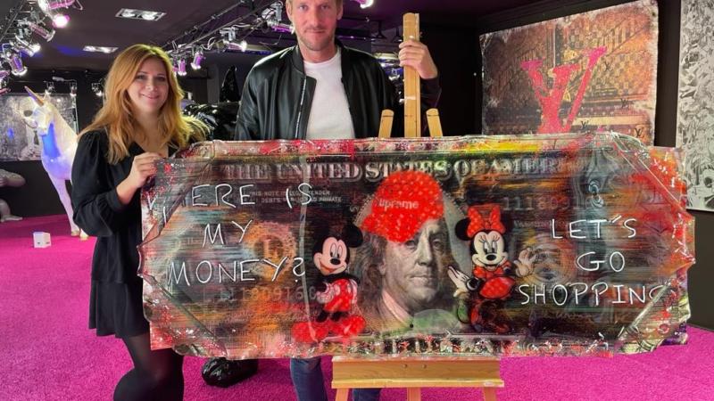 Versteigerung von Pop-Art-Kunst: Erlös kommt krebskranken Kindern zugute