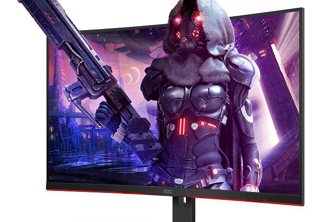 Großformate für Highspeed-Gaming: AOC launcht zwei neue 31,5″ Curved-Gaming-Monitore aus der G2-Serie