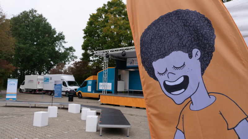 Der Kinderchorland-Singbus kommt nach Rheinland-Pfalz