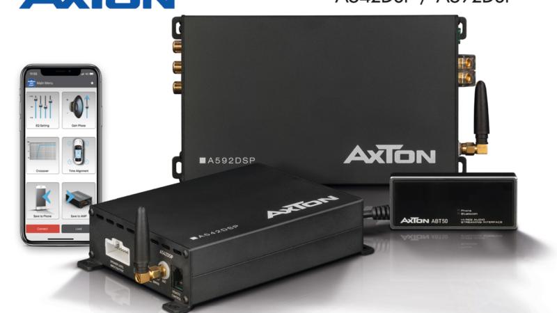 Hi-Res Audio im Auto – mit AXTONs neuen DSP-Verstärkern
