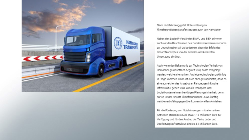 Content Marketing für Transport- und Logistikunternehmen