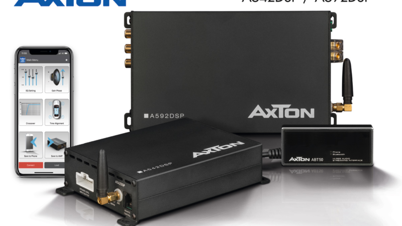 Hi-Res Audio in the Car – with the New AXTON DSP Amps