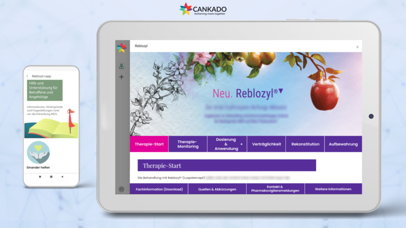 CANKADO's Companion-APP Solution provides Drug-Optimised Digital Applications for Pharmaceutical Companies