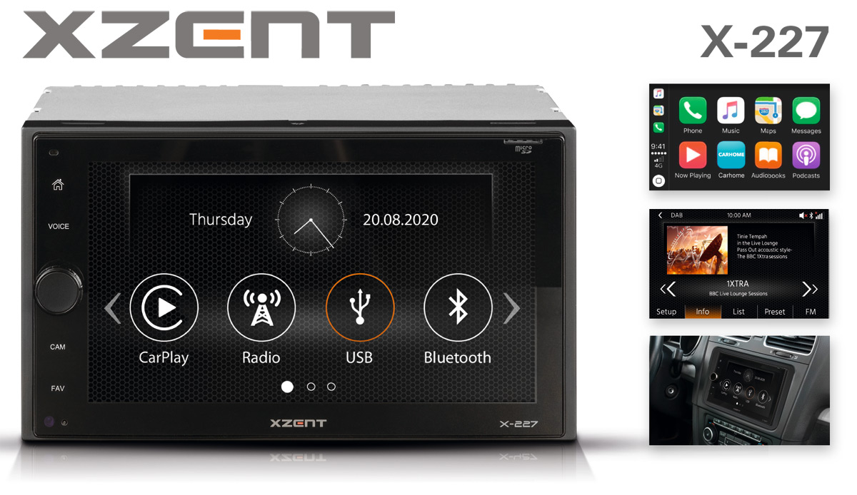 Top Entertainer for the Car: XZENT Multimedia System X-227