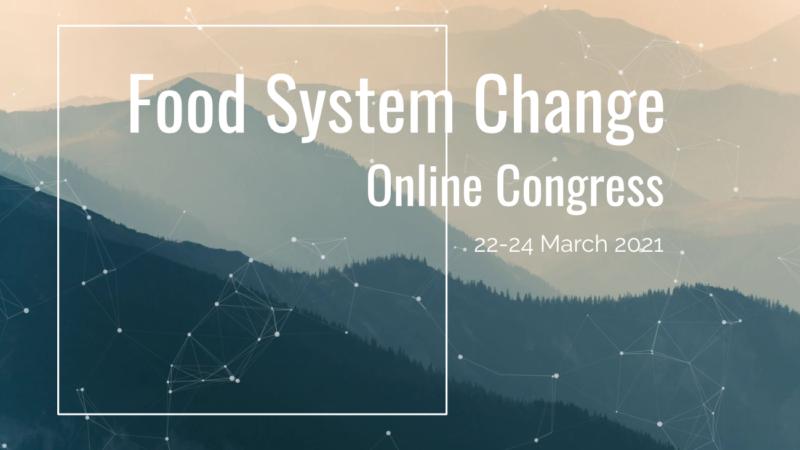 Food System Change Online-Kongress