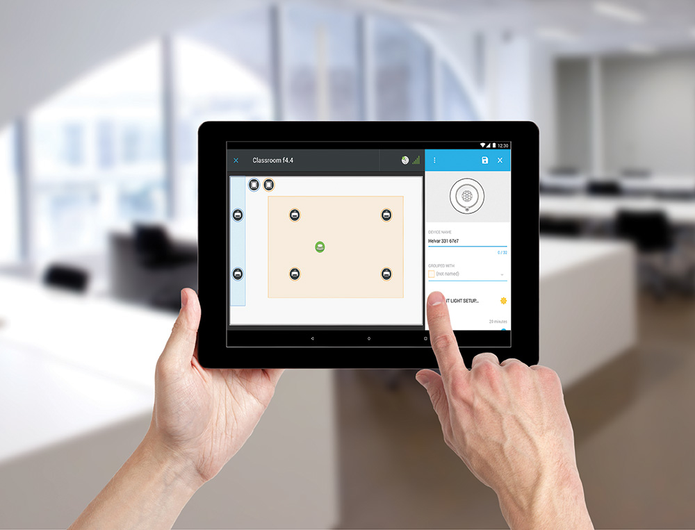 RoomSet – intelligente Helvar Steuerung für Einzelräume