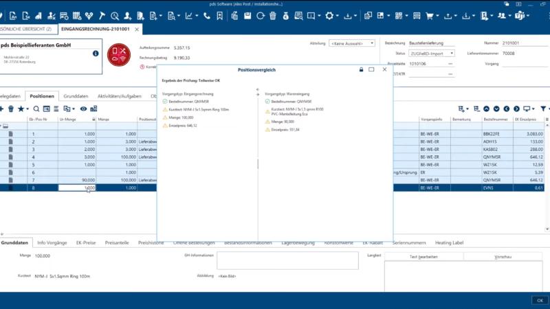 Digitales Archiv und Rechnungsworkflow mit pds Software