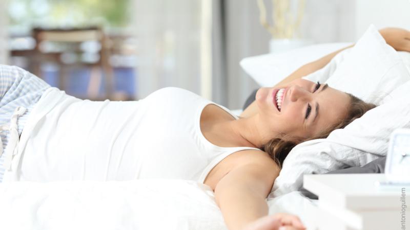 Guter Schlaf ist wichtig für die Regeneration