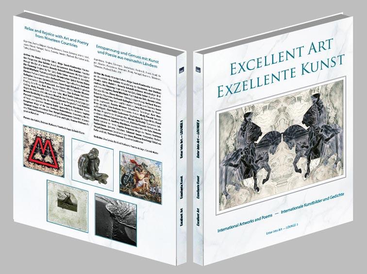 "International art book ""Excellent Art – Exzellente Kunst"""