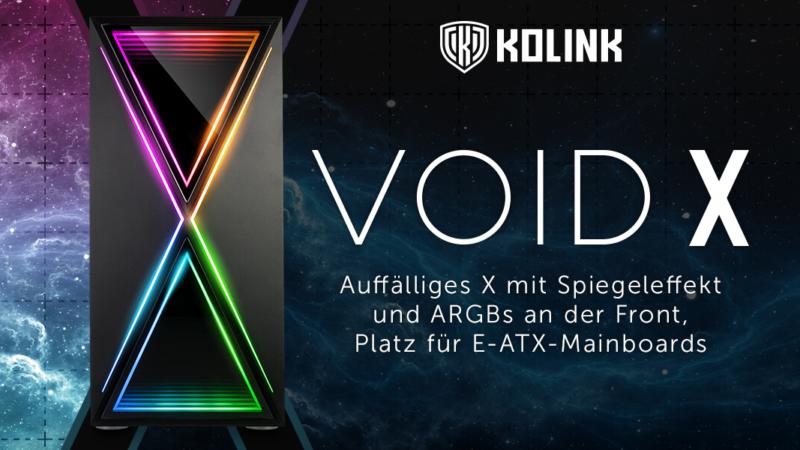 Kolink Void X: Das perfekte Case für Stilbewusste.