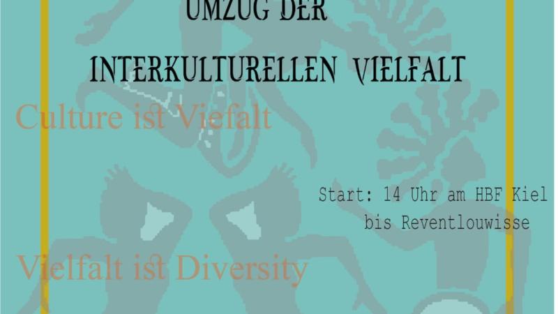 Interkultureller Umzug in Kiel / Norddeutschland