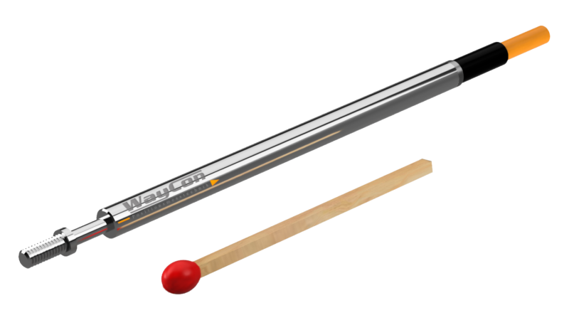 Inductive sensors LVDT series LVISM – Hardly larger than a match