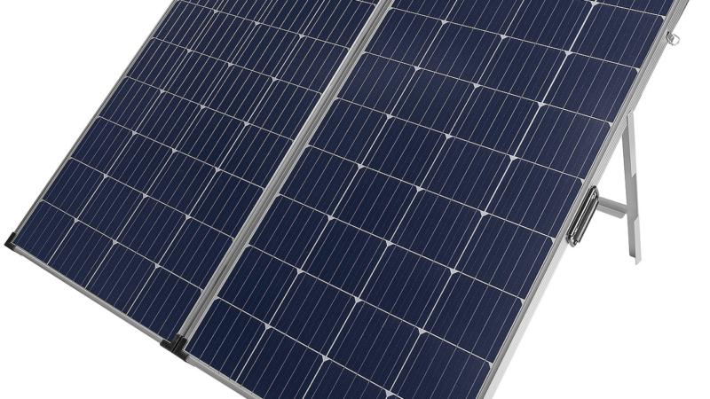 revolt Faltbares mobiles Solar Panel