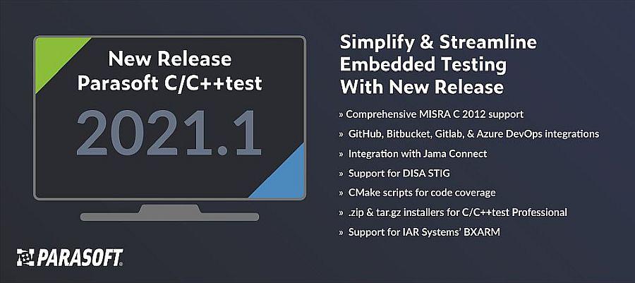 Parasoft präsentiert integrierte automatisierte Testlösung für CI/CD-Workflow