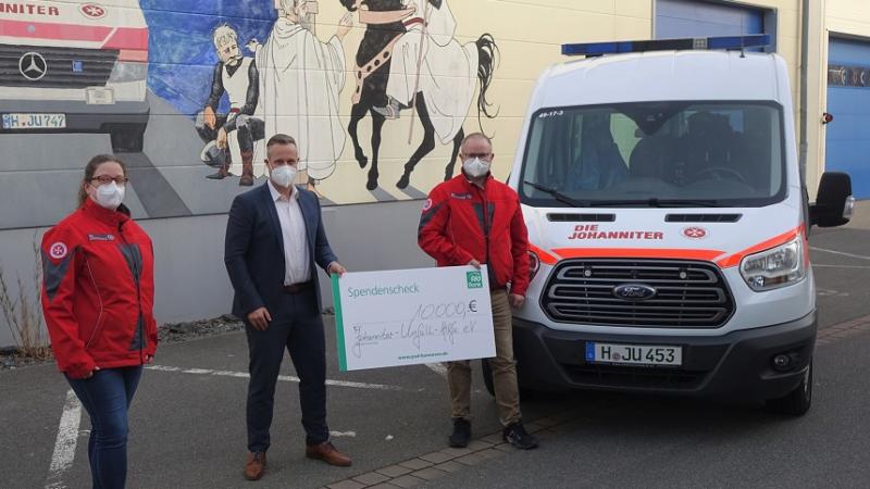 Hilfe für die Ärmsten: PSD Bank Hannover e.G. spendet 10.000 Euro für den Kältebus