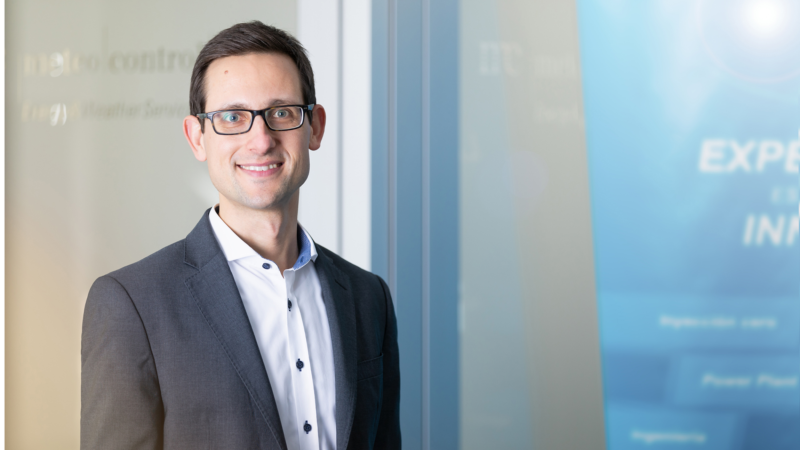 meteocontrol has a new Head of Sales for Europe