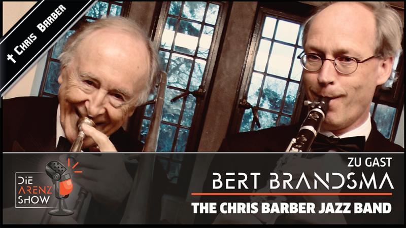 Tod von Jazz-Legende Chris Barber – jetzt spricht sein Freund und Bandkollege Bert Brandsma