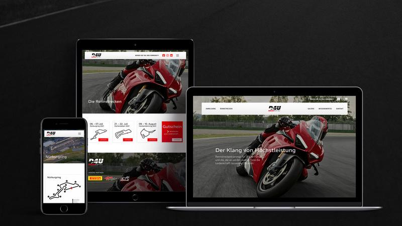 DUCATI FOR YOU: Interlutions lässt Motorradfans auf Ducati abfahren
