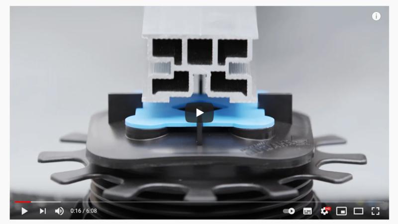 Schritt für Schritt: Neues Video zeigt Verlegung auf Gutjahr-Rahmensystem