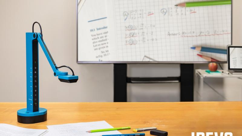 Lernen und Teilen ohne Kabel – die schnurlose Dokumentenkamera IPEVO VZ-X ist zurück