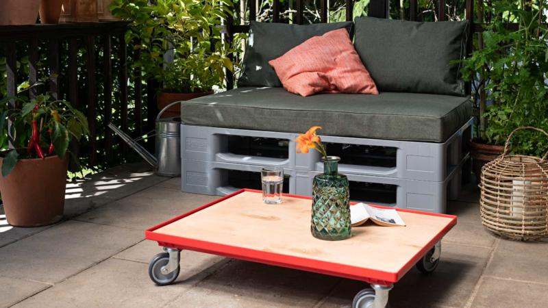 DIY Möbel für Balkon und Terrasse