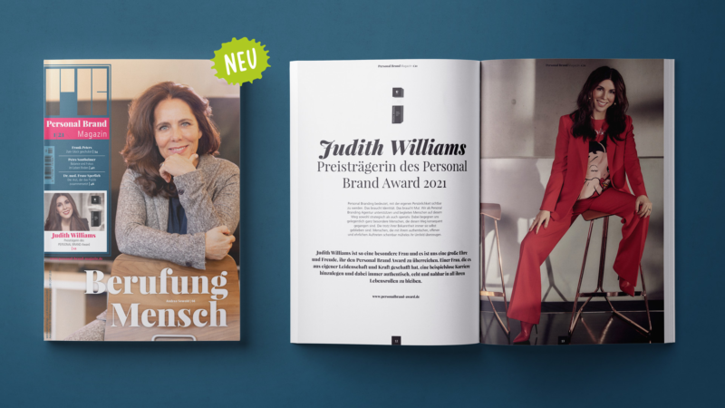 Personality First auf über 80 Seiten – das neue Personal Brand Magazin ist da