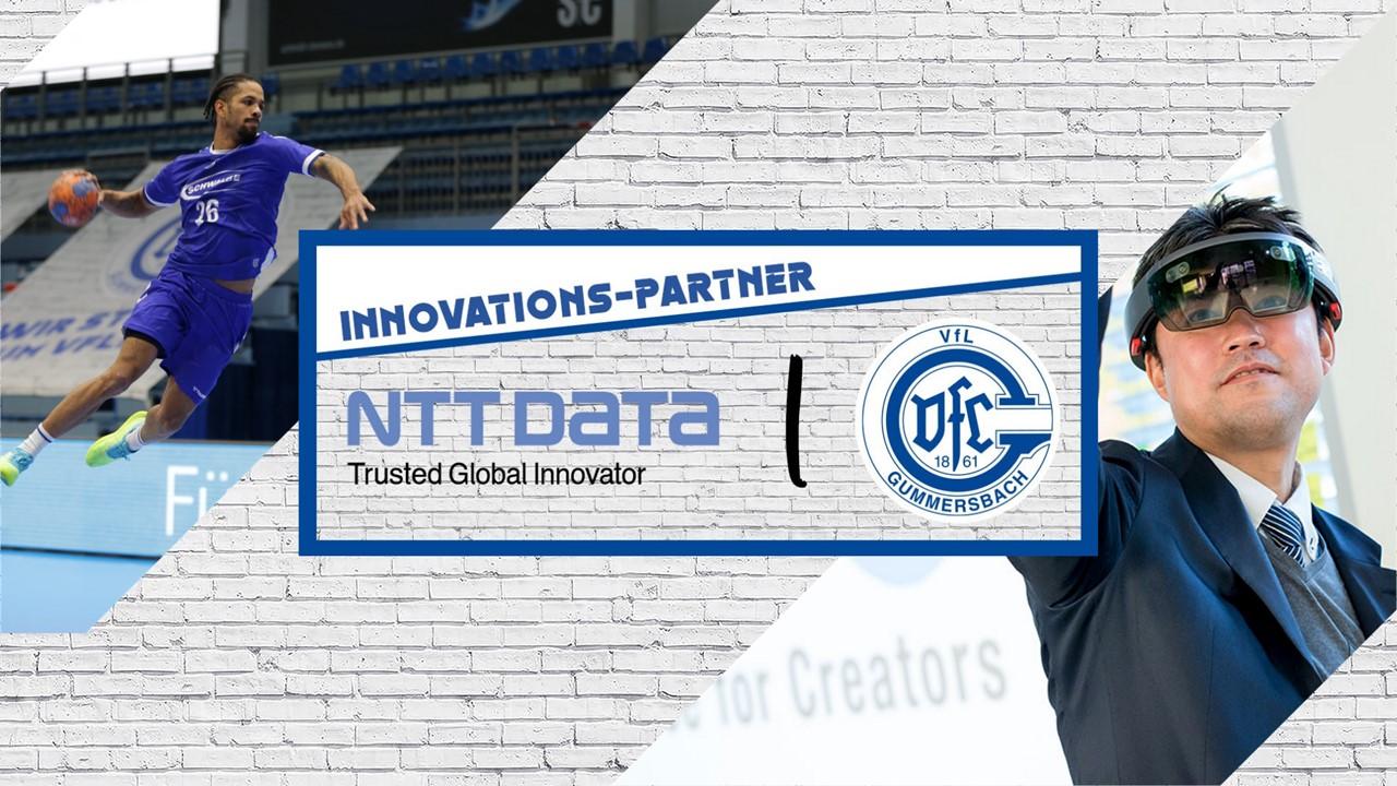 NTT DATA wird Innovations-Partner der VfL Handball Gummersbach GmbH