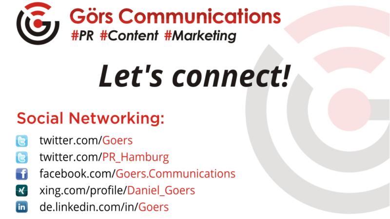 Digitale Coaching- und Beratungsangebote von Daniel Görs auch via Blogs und Social Media