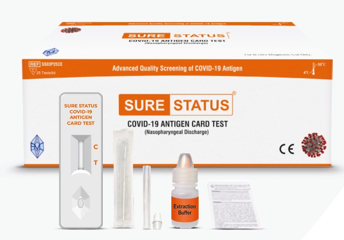 WHO-gelisteter Premier COVID-19-Antigen Schnelltest jetzt in Deutschland erhältlich.