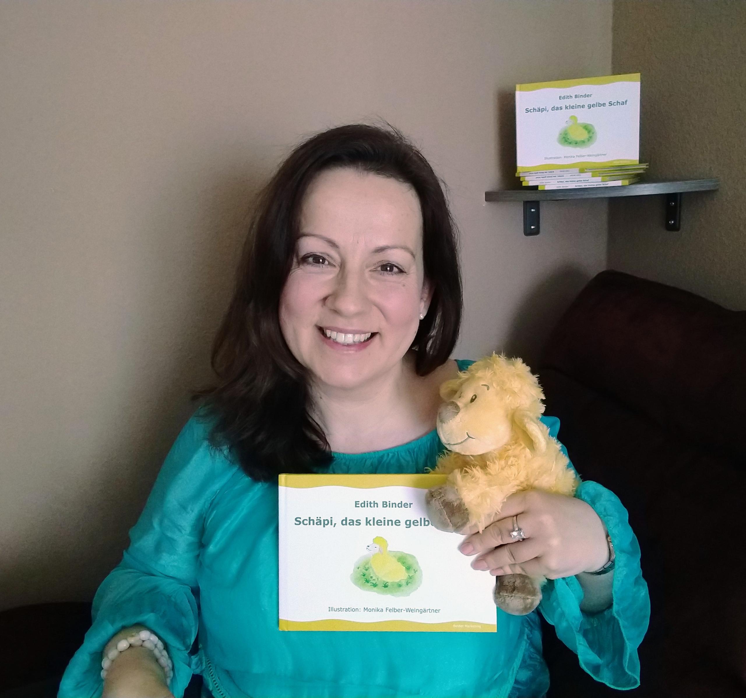 Schäpi, das kleine gelbe Schaf – neues Kinderbuch von Binder Marketing