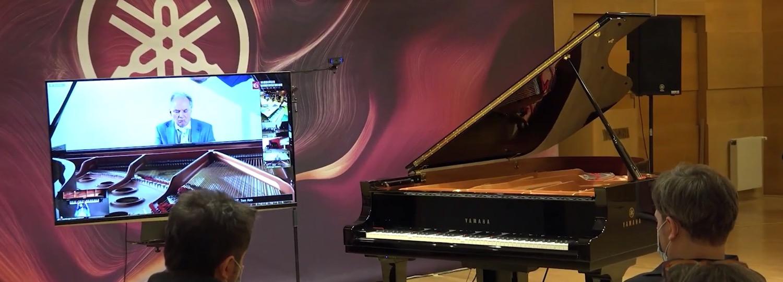 Yamaha Disklavier Technologie überträgt Beethoven weltweit live