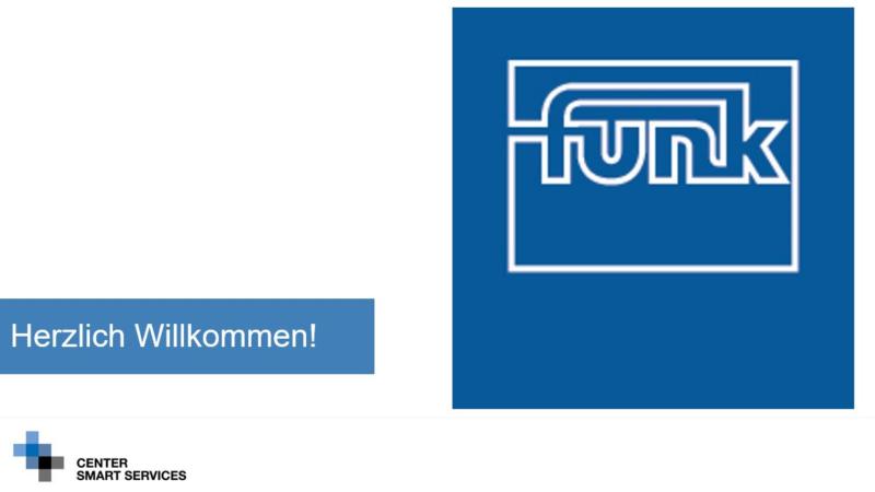 Funk ist neuer Immatrikulant auf dem RWTH Aachen Campus