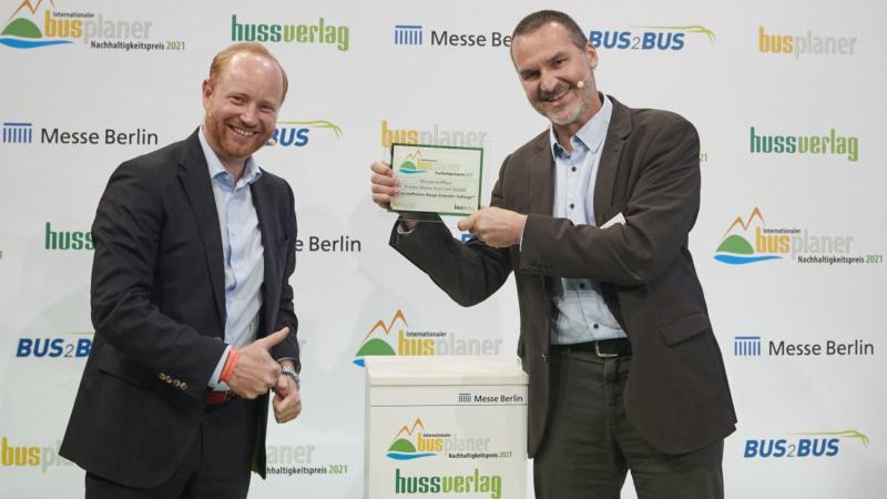 "Proton Motor receives ""International busplaner Sustainability Award 2021"""