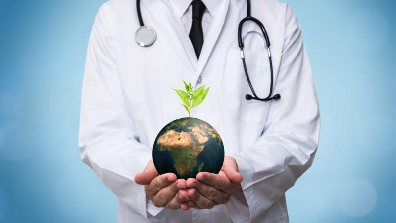 Der Gesundheitssektor – Wegweiser für eine CO2-neutrale Wirtschaft