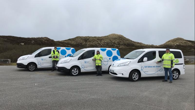 Klimaneutral auf Sylt: HanseWerk Natur fährt elektrisch