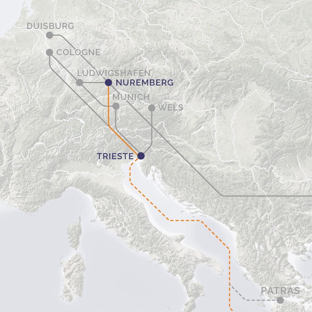 Cobantur Boltas und DFDS bauen gemeinsam intermodale Transport-Route aus