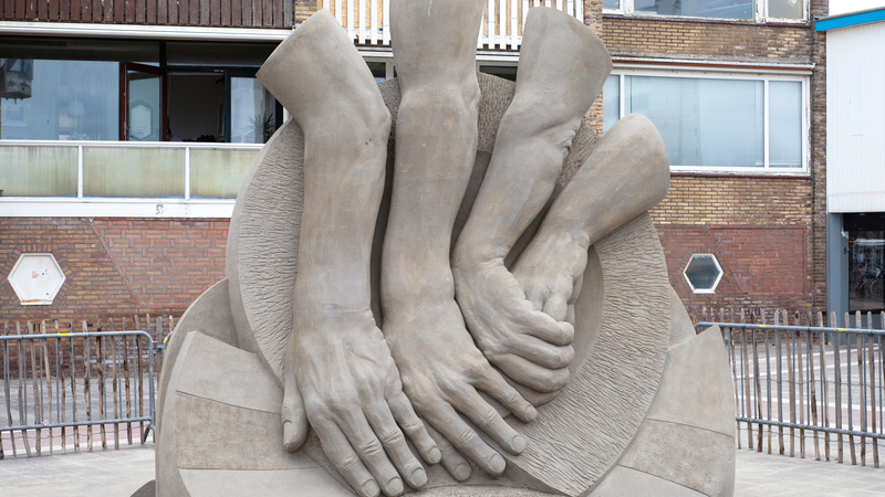 Kunst aus Sand: Zandvoort krönt Europas Sandskulpturen-Meister 2021