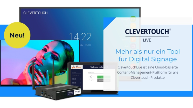 Clevertouch präsentiert: ClevertouchLive