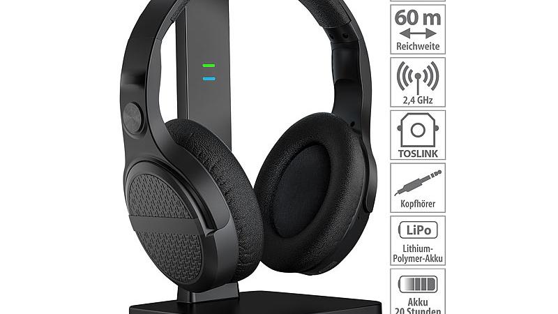 auvisio Digitaler Stereo-Funk-Kopfhörer OK-320