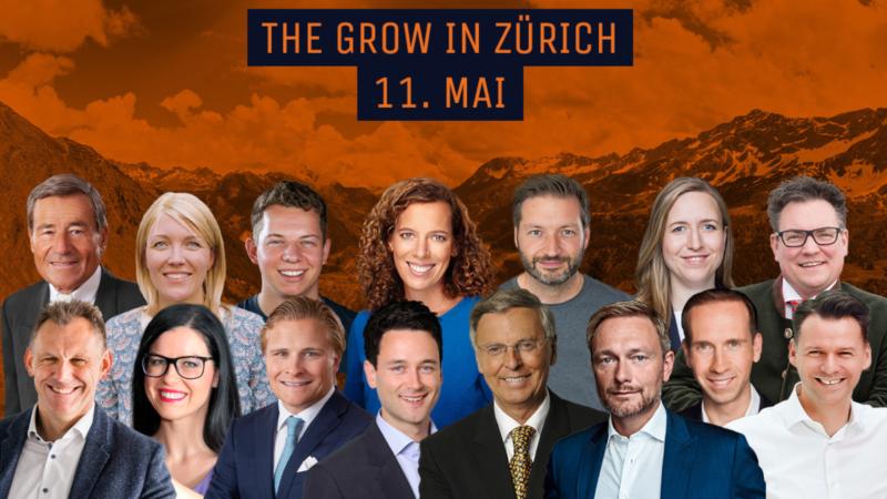 Dritte Veranstaltung von THE GROW mit hochkarätigem Panel