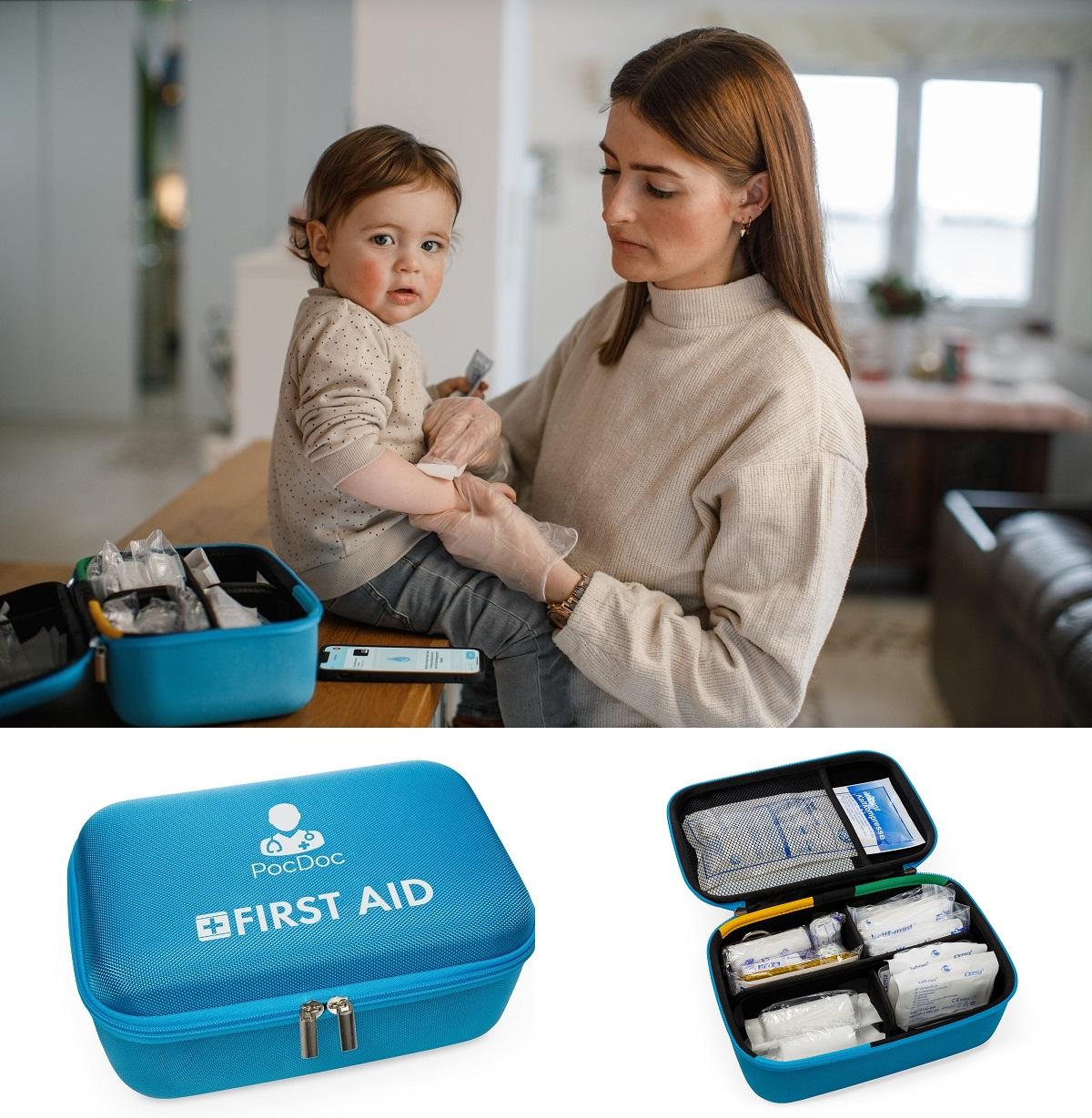 Kindern im medizinischen Notfall sicher helfen können dank PocDoc