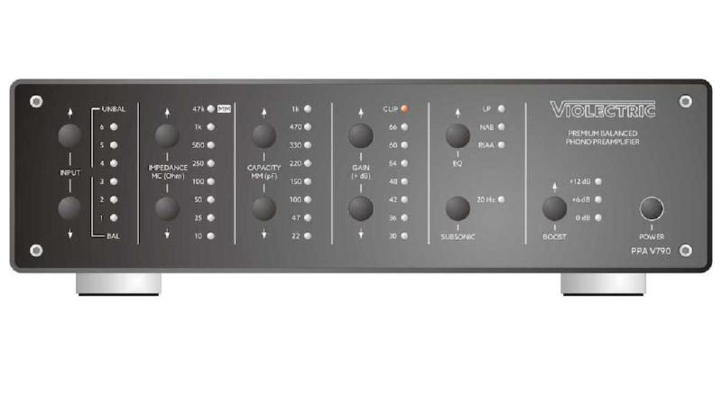 Violectric Phono-Vorverstärker PPA V790 bietet maximale Flexibilität für höchste Ansprüche