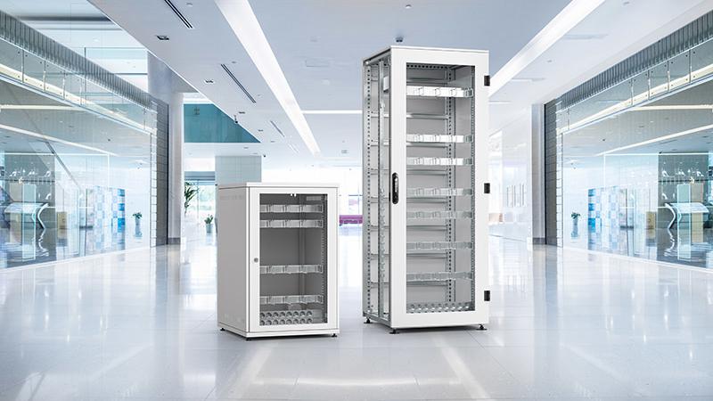 Robuste IT-Schrank-Lösungen für dezentrale Standorte
